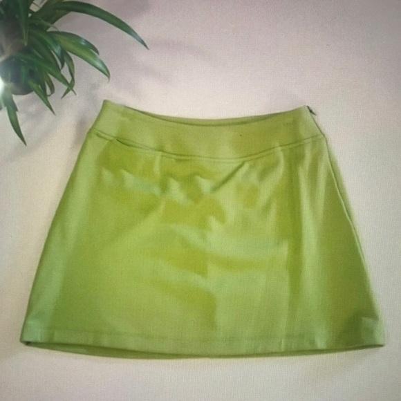 a8db91dd12 Lilly Pulitzer Skirts | Bcbg Maxazria Lime Green Mini Skirt | Poshmark